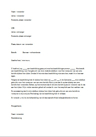 voorbeeldbrief bezwaar belastingdienst Letters Belastingdienst voorbeeldbrief bezwaar belastingdienst