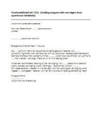 Download Een Voorbeeld Zakelijke Brief