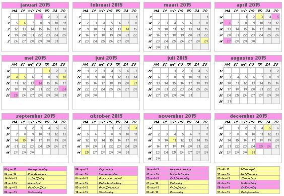 Kalender In Excel Maken Calendar Template 2016
