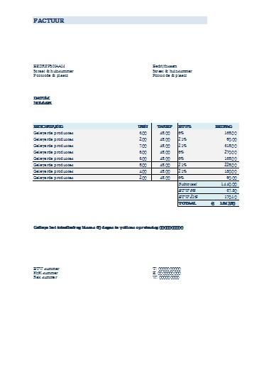 Betalingstermijn Factuur | hetmakershuis