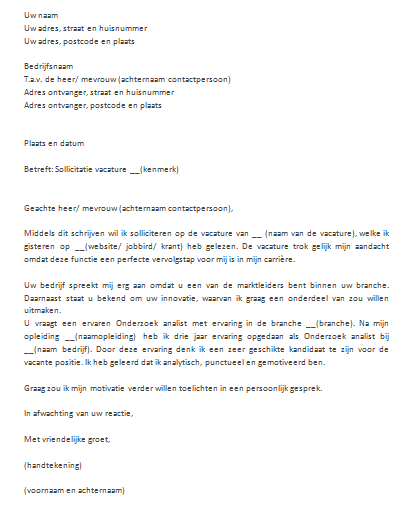 motivatiebrief traineeship Korte motivatiebrief schrijven goedkope make up paletten motivatiebrief traineeship
