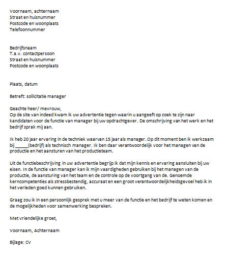ict officer cover letter - zie een sollicitatiebrief voorbeeld de motivatiebrief