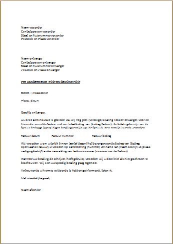 layout engelse brief Indeling Engelse Brief | hetmakershuis