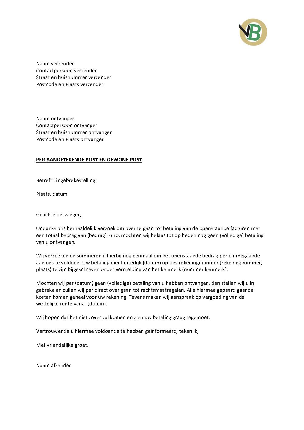 Engelse Klachtenbrief | hetmakershuis